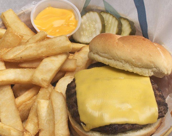 Between the Buns burger