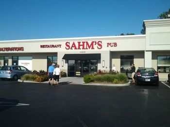 Sahm's Fishers front Yelp