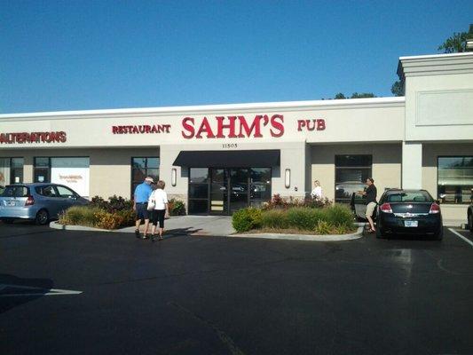 Sahm's Fishers front Yelp