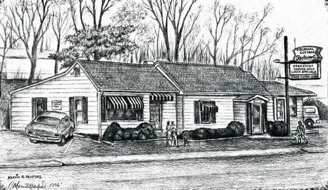 Colonial cottage original building