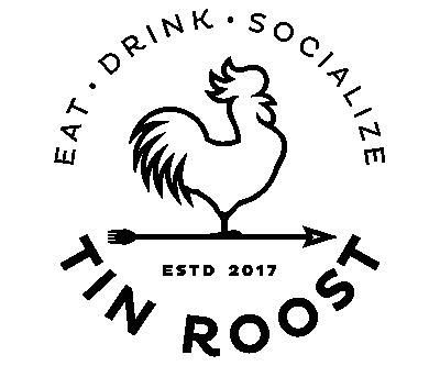 Tin Roost round logo black x400