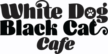 White_dog_black_cat_cafe_logo