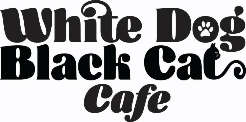 White_dog_black_cat_cafe_logo
