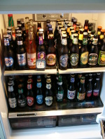 Image result for refrigerator full of beer and wurst